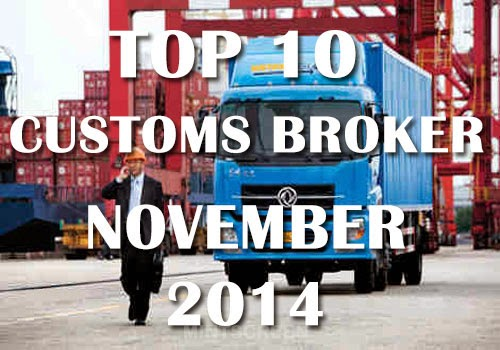 Top 10 November 2014 Customs Broker Board Exam Passers