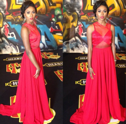 Best Dressed at the 2013 Headies Awards Toke, Waje and More