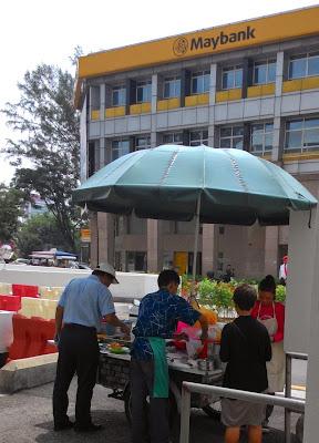 Phang Cheong Chin Yong Tau Foo behind Maybank Uptown