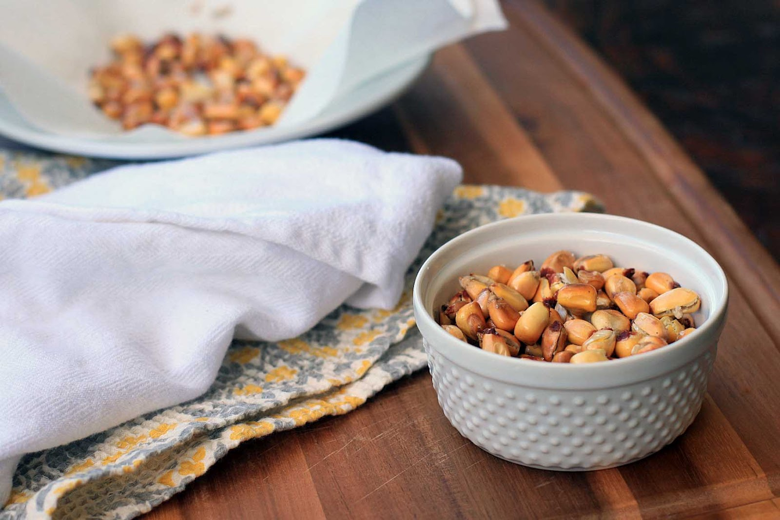 how to make corn nuts from sweet corn