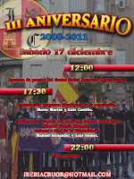 III Aniversario Iberia Cruor