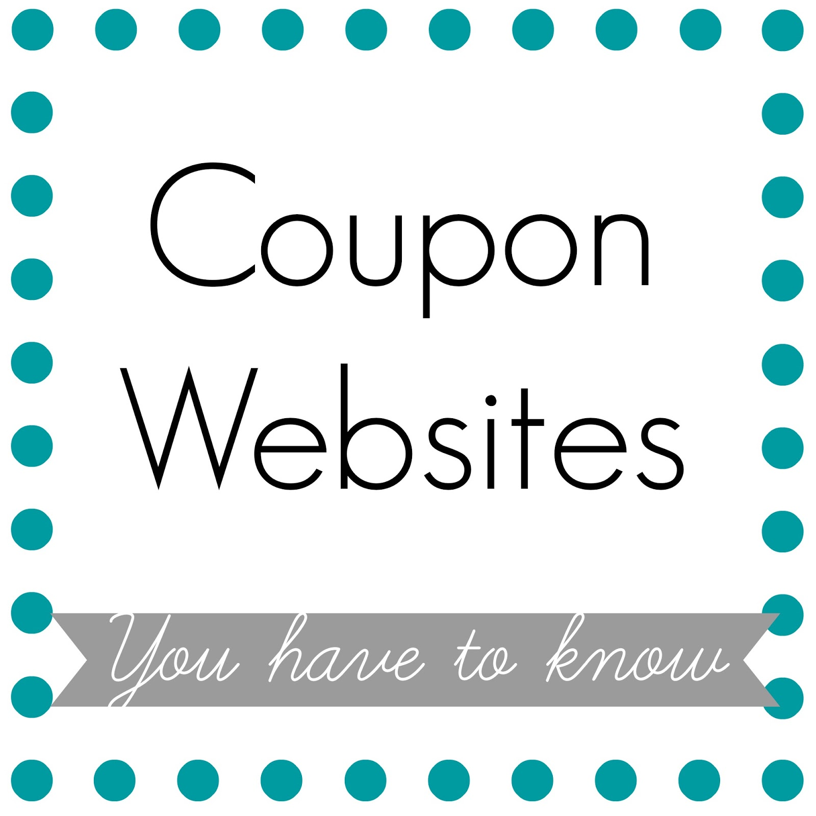 Discount coupons websites