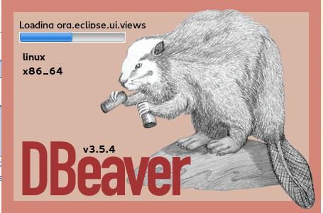 DBeaver versión 3.5.4 en Fedora 23x86_64