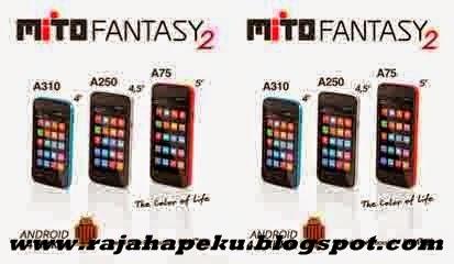 Harga Mito Fantasy 2 Terbaru Dan Spesifikasi Terlengkap, 2 Fitur Unggulan Camera Primary 13 MP Serta System Operasy Android v4,4 KitKat