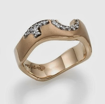 buy 14k Rose Gold Female Insignia Ring