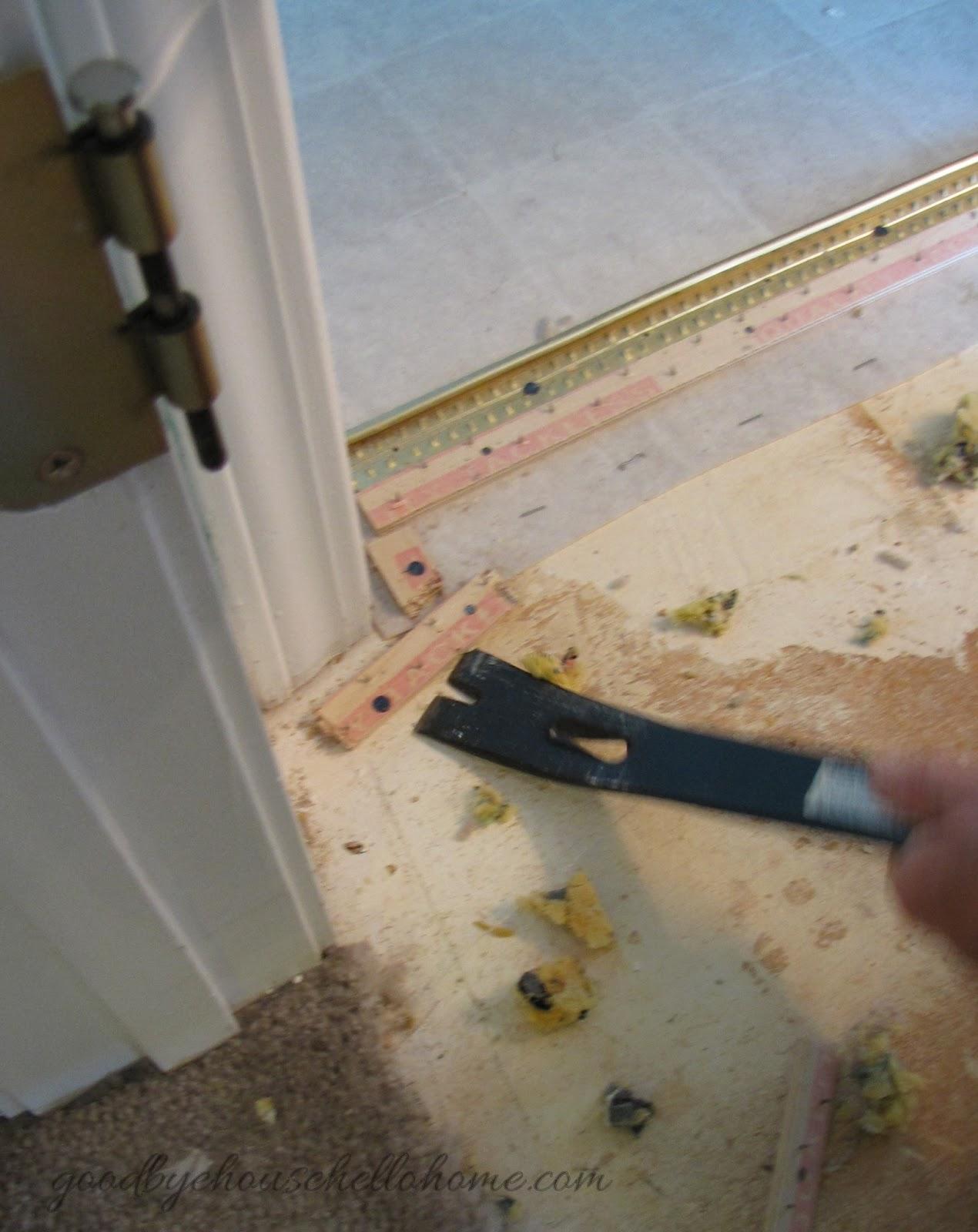 Goodbye House Hello Home Blog How to Install Groutable Vinyl Tile