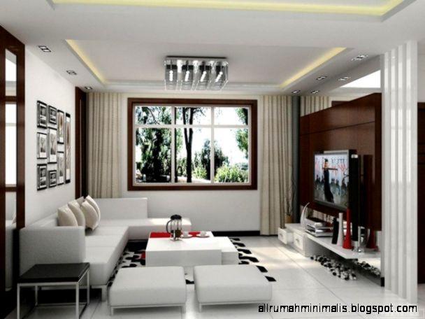 Desain Interior Ruang Tamu Minimalis Joss