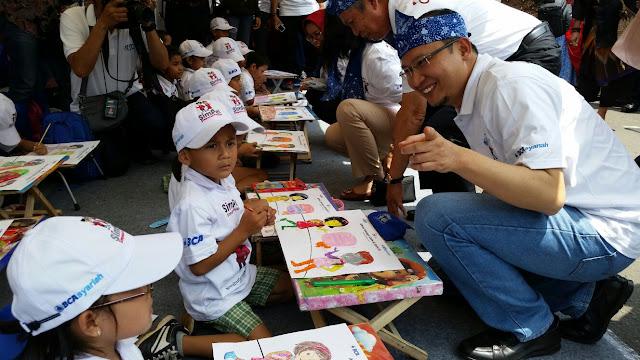 Masa Reses, Ecky Ajak Pelajar Aktif Menabung
