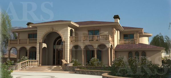 2d Front Elevation For Residential : D architectural renderings new residential