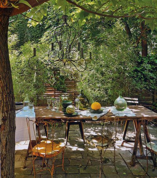 Kulunka deco blog pasar un d a en el campo - Como decorar un porche ...