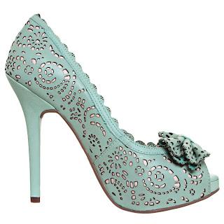 Via Marte - Coleção Verão 2013 sapato verde, preços