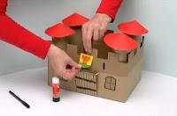 como hacer maqueta de un castillo  medieval