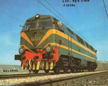 Locomotora Diesel  serie 333-0206