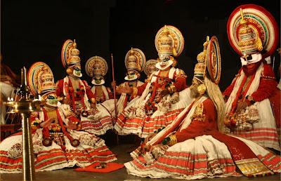 Kathakali Dancing Stage in Kochi