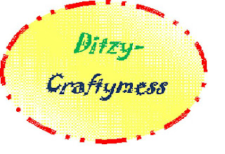 ditzy-craftymess challenge blog