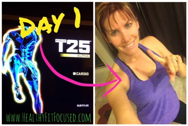 Focus T25 Day 1, Alpha Cardio
