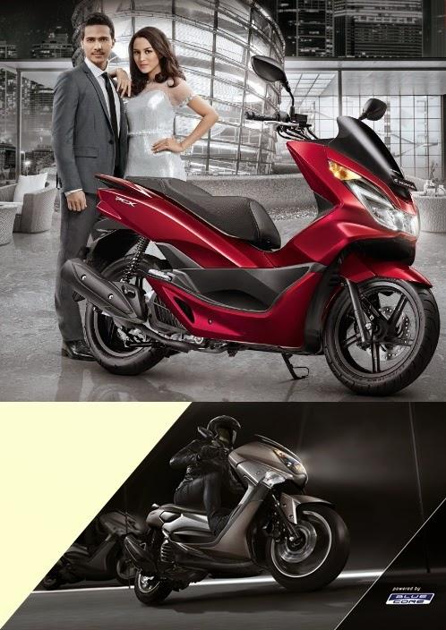 Komparasi Spesifikasi Honda PCX 150 Vs Yamaha NMAX 150