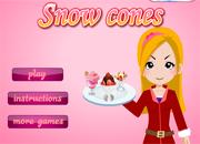 juegos de cocina snow cones