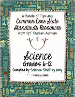 6-12 Science Common Core Resources