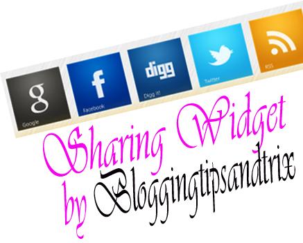 add sharing widget