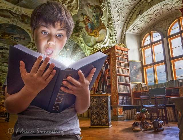 An Imaginative Childhood Created By Adrian Sommeling
