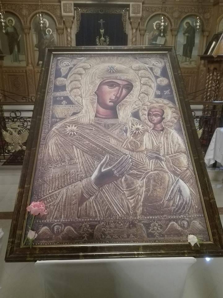 Φωτογραφίες από την Ιερά Αγρυπνία για την εορτή της Παναγίας της Προυσίωτισσας 22/8/2017