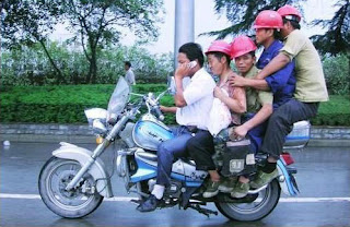 Excesso trabalhadores numa mota