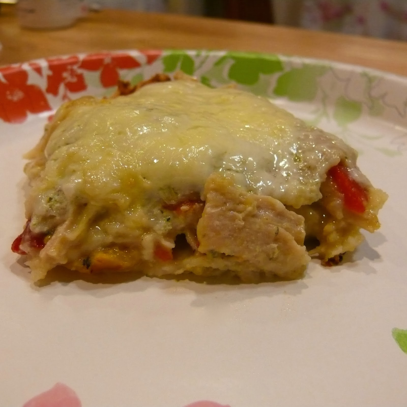 ... enchilada sauce but everything else about an enchilada is right up my
