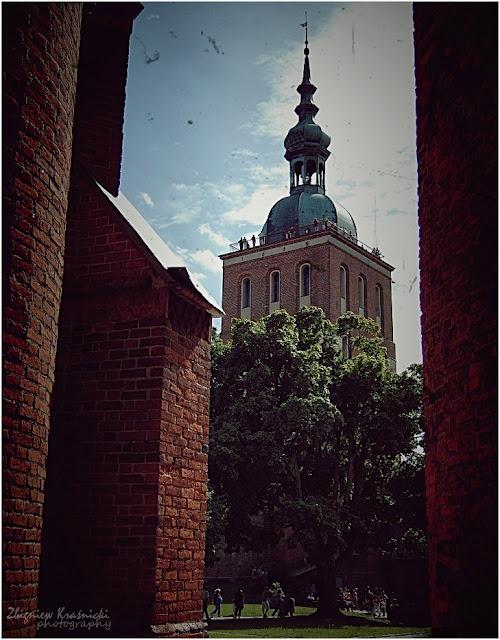 Frombork. Wieża dzwonna bpa Radziejowskiego
