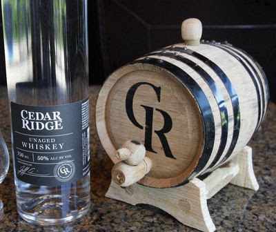 Cedar Ridge 'Age Your Own Whiskey' Kit
