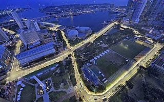 2013 Singapore Formula 1 Ticket pict
