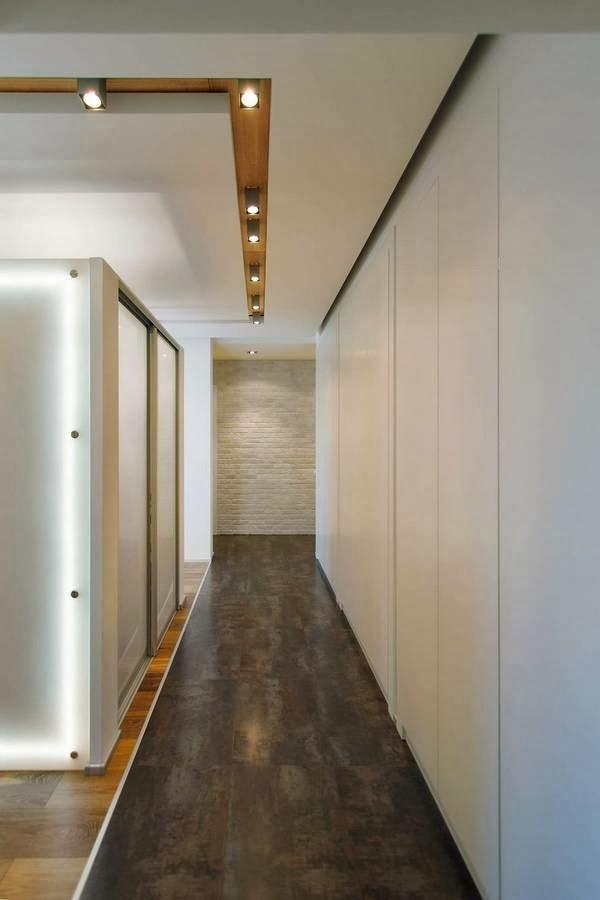 Jardines y casas los pasillos en casas modernas - Alfombras para pasillos modernas ...