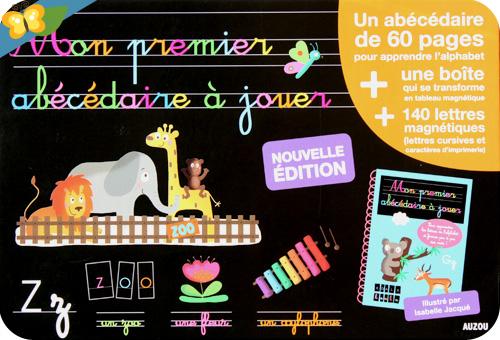 Mon premier abécédaire à jouer - Edition 2013  Éditions Auzou