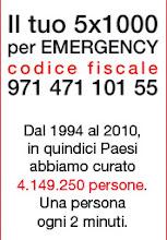 5x1000 per EMERGENCY