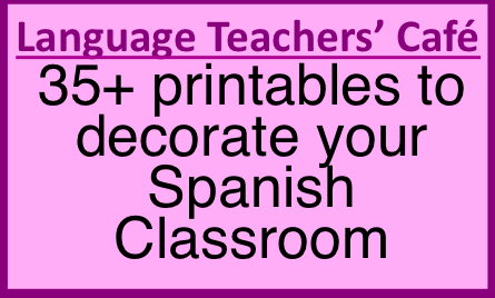 spanish speaking countries photos facts classroom decorations spanish phrase of the week posters 36 pages verb word wall bulletin