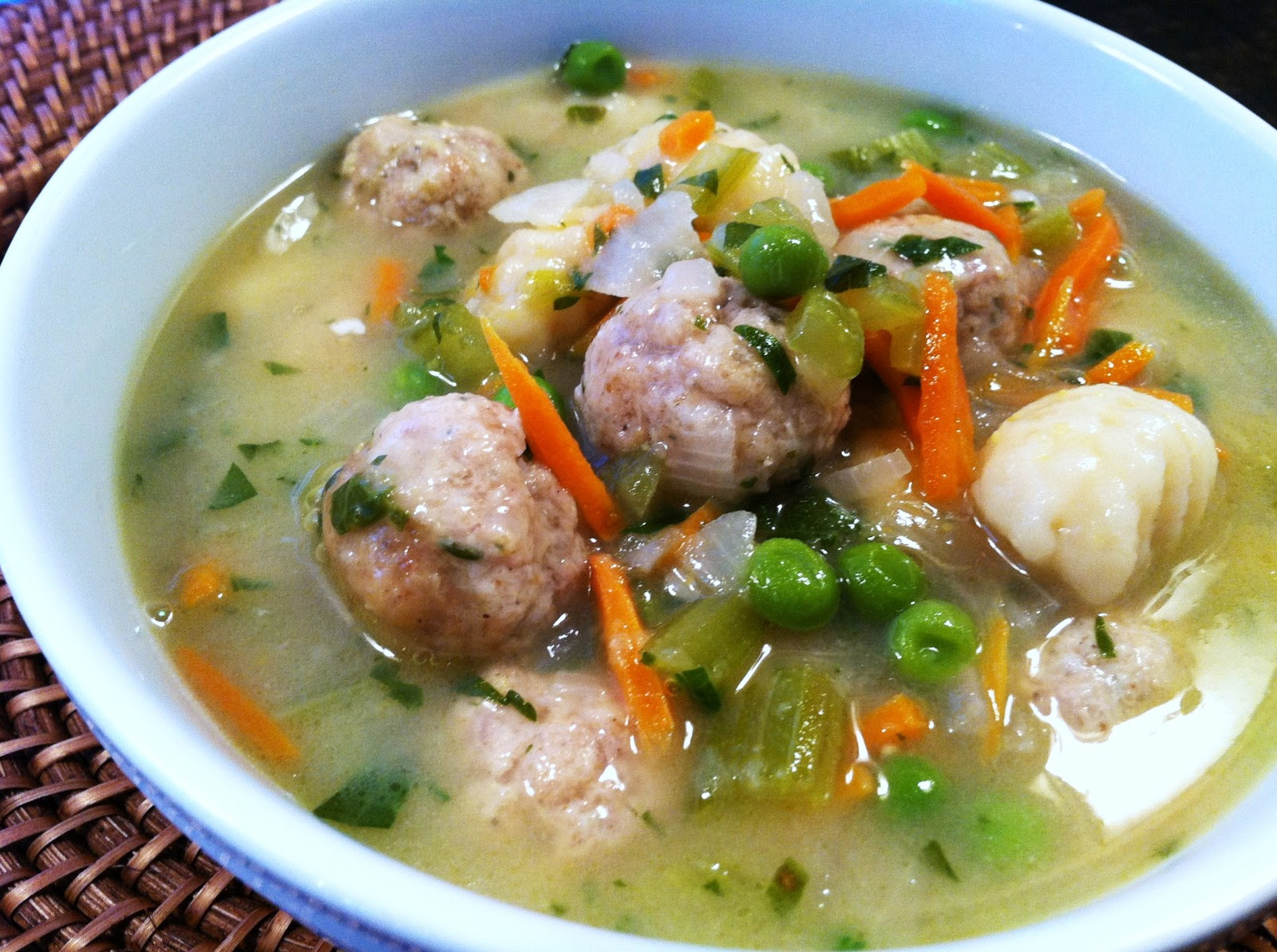 Everything Tasty from My Kitchen: Italian Wedding Soup