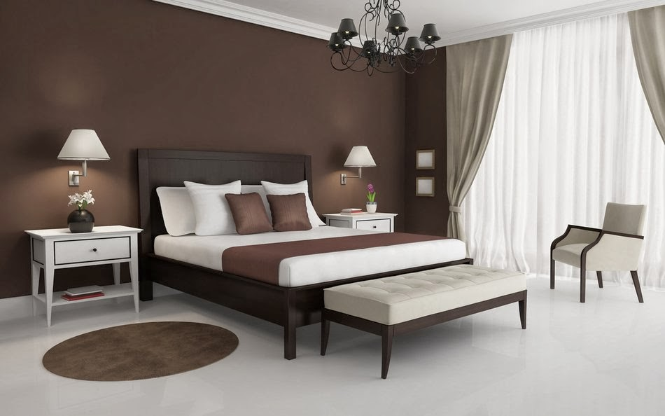 . master bedroom designs in brown colors  15 design