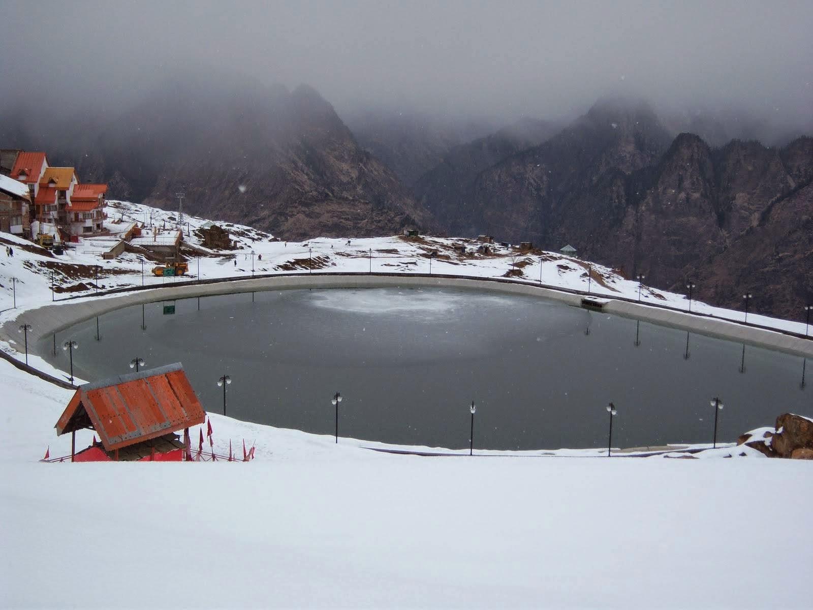 ski destination - Auli, Uttarakhand