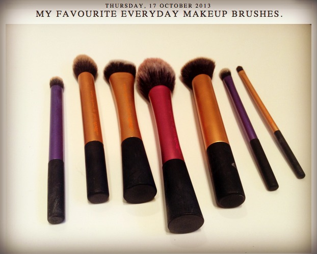 real techniques makeup brushes on coffee and cosmetics blog