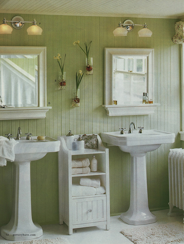 ... Design Interior: Choose The Color Of Paint For The Bathroom