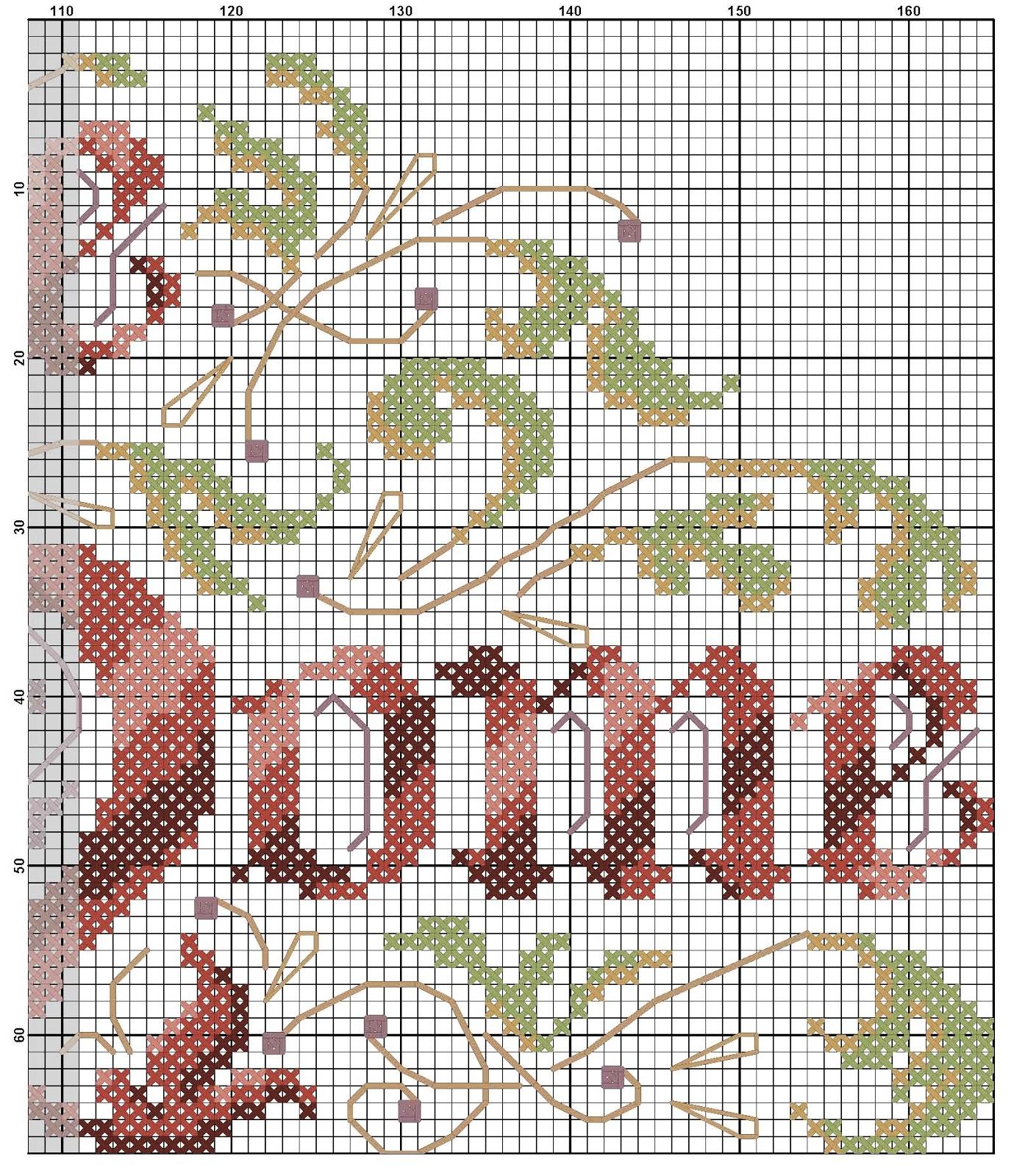 Home вышивка крестом 62