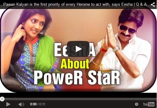 Pawan Kalyan is the first priority of every Heroine to act with : Eesha