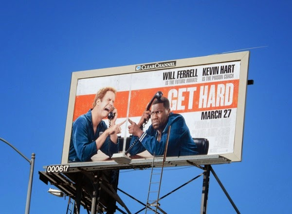 Get Hard billboard