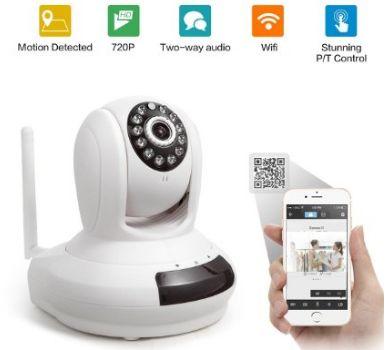 idea next wifi camera 720p hd cctv member