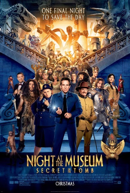 """Night at The Museum 3: Secret of The Tomb (2014)"" movie review by Glen Tripollo"