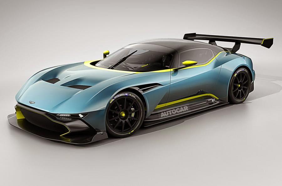 Aston Martin presentara su modelo Aston Martin Vulcan