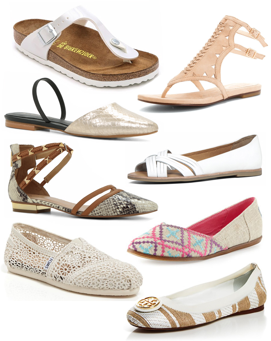 Flats and Sandals for Spring