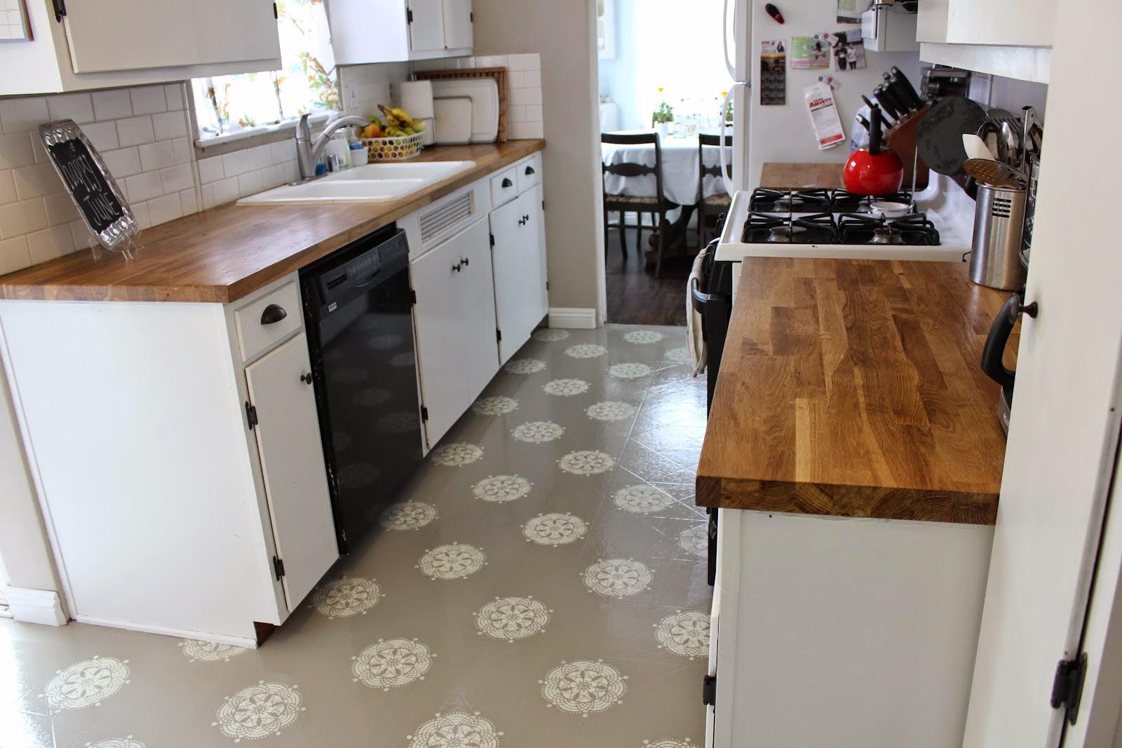 lantai keramik dapur minimalis 2014