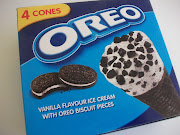 Oreos, Oreos, Oreos. (oreo ice cream cones fredericks dairies)