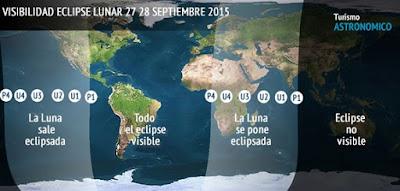 ELIPSE LUNAR SUPER MOON 28 DE SEPTIEMBRE 2015